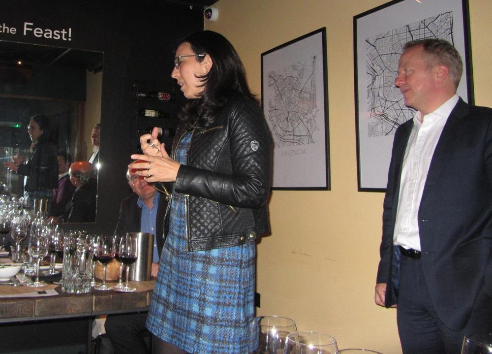 Beronia wine makers dinner - the wine maker