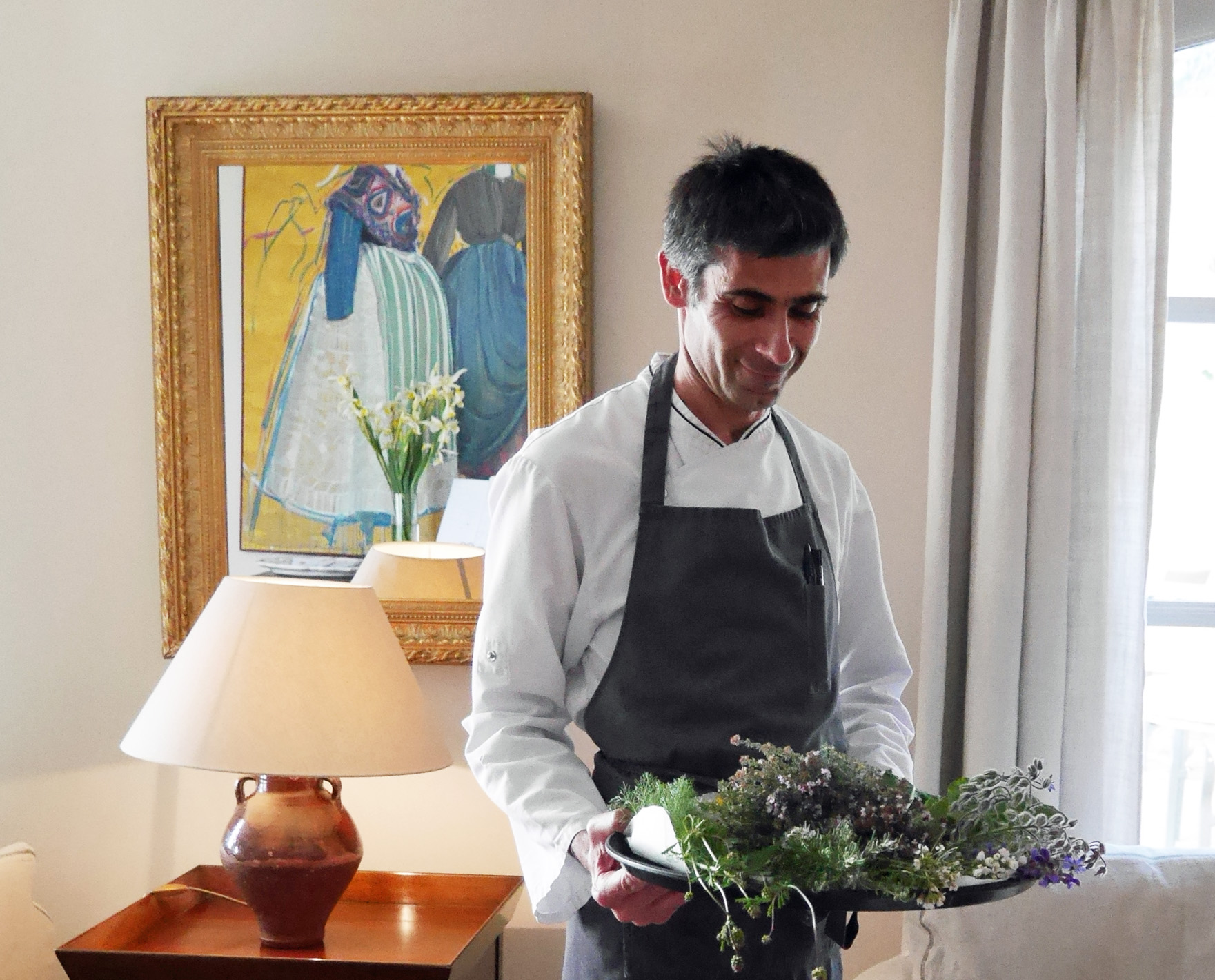 Benvengudo - chef with foraging