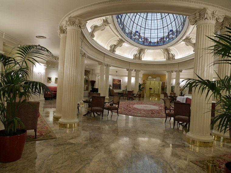 Bilbao Lobby of the Hotel Carlton