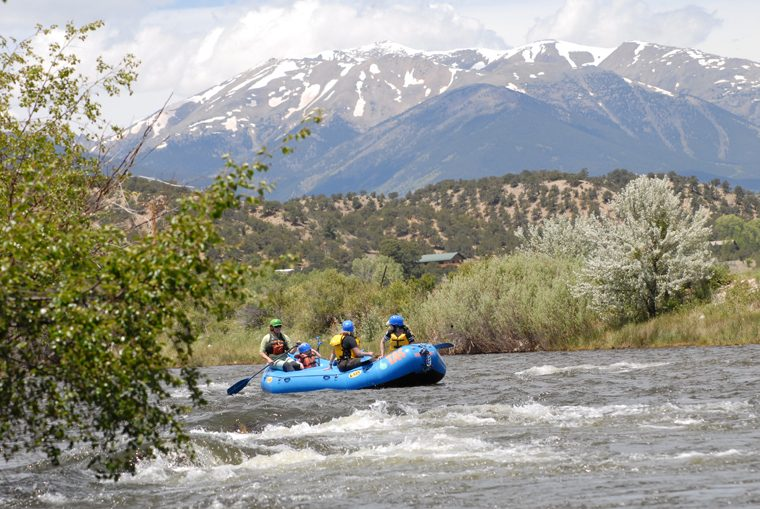 Breckenridge White Water Rafting - credit Adventure Company