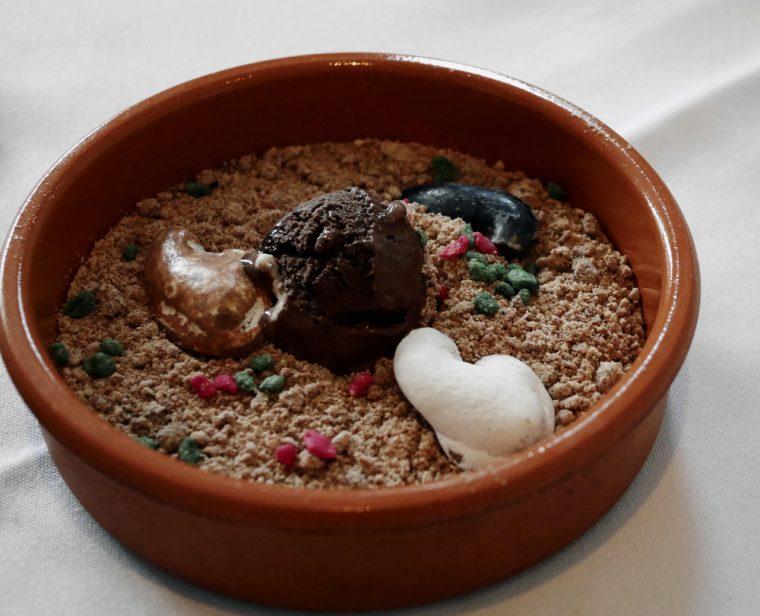 Chakra Chocolate Dessert