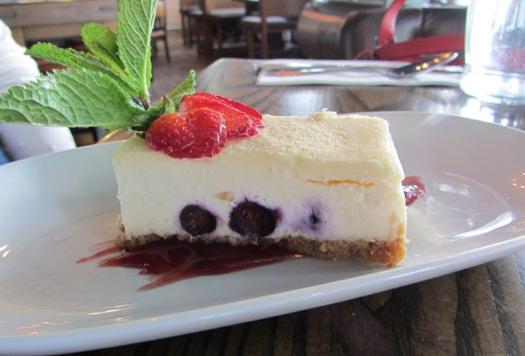 Marquis Cornwallis - cheesecake