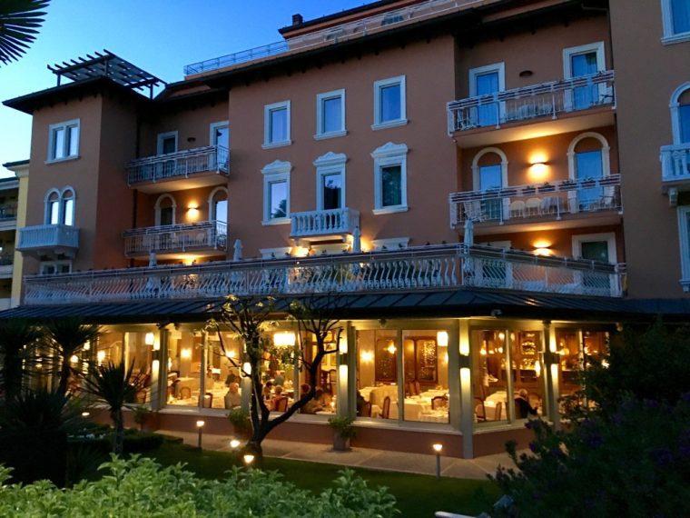 REGINA ADELAIDE Hotel exterior Lake Garda