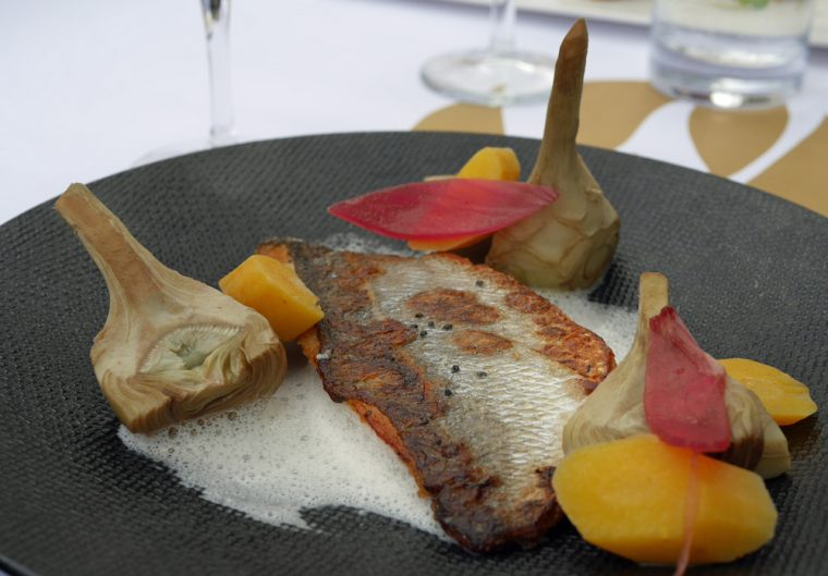 Avignon Sea Bass with ARtichoke