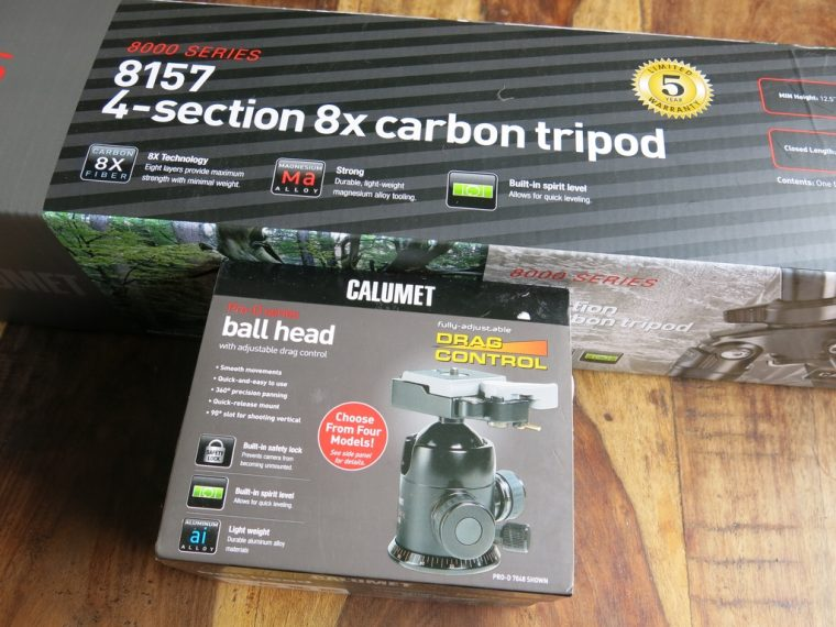Calumet Tripod New Boxed