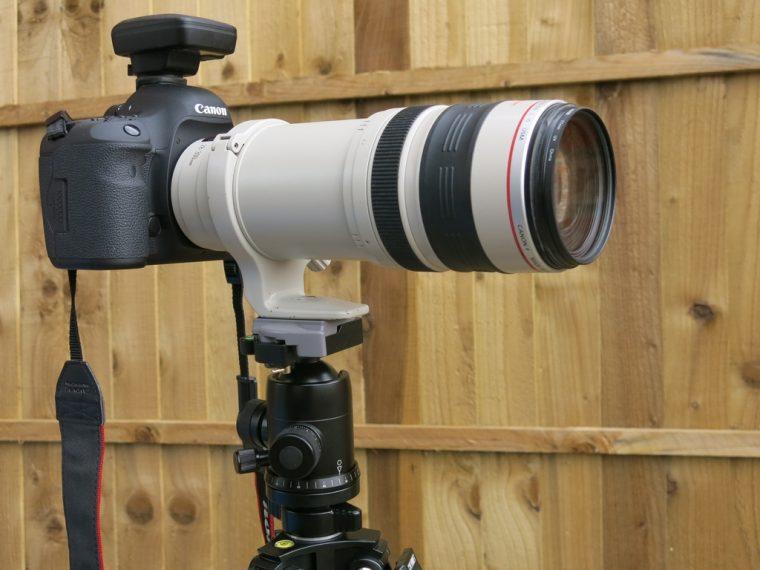 Calumet Tripod Using Canon Lens Mount