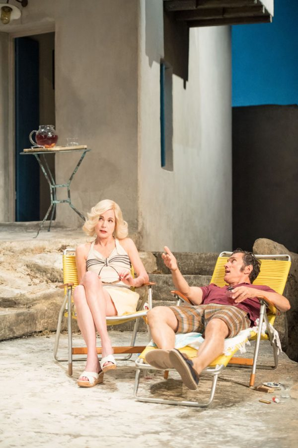 Elizabeth McGovern and Ben Miles in Sunset at the Villa Thalia (c) Manuel Harlan