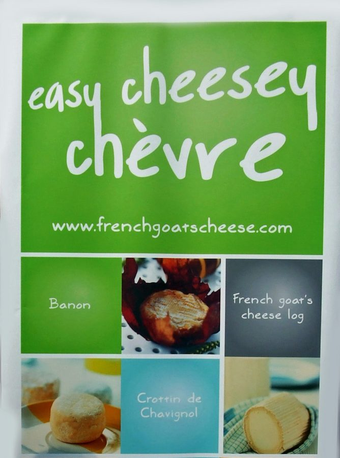 Foodies Festival Syon Park French Goats Cheese Poster
