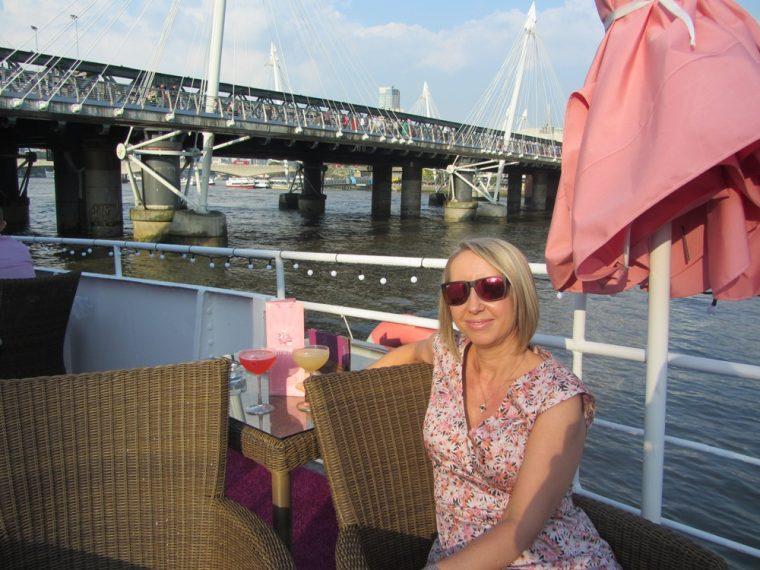 Good ship benefit - cocktails on deck