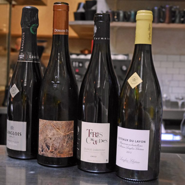 Loire wines at Cigalon