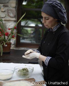 STrangolapreti making the dumplings