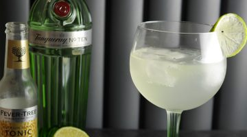 Tanqueray Number 10 gift set and a Summer Cocktail