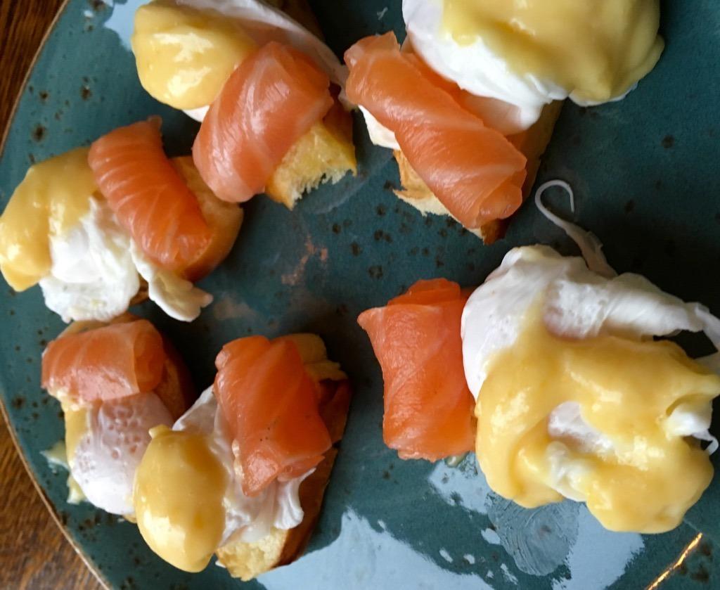 The Cavendish eggs benedict 2
