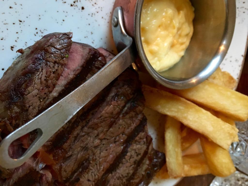 The Cavendish steak
