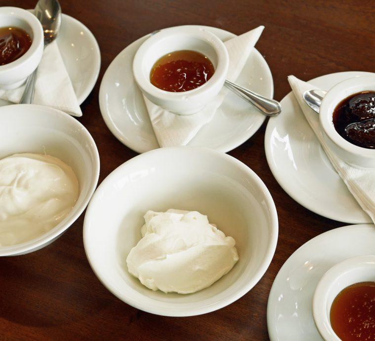The Greek Larder Yoghurt and jams