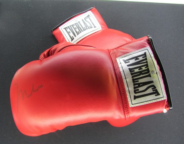 Ali Exhibition - boxing gloves