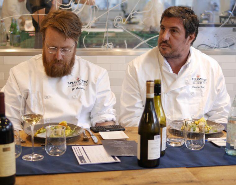 Judging George Kataras Dish - S.Pellegrino Young Chef