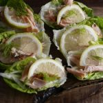 Hot Smoked Salmon Lettuce Boats – Low Calorie