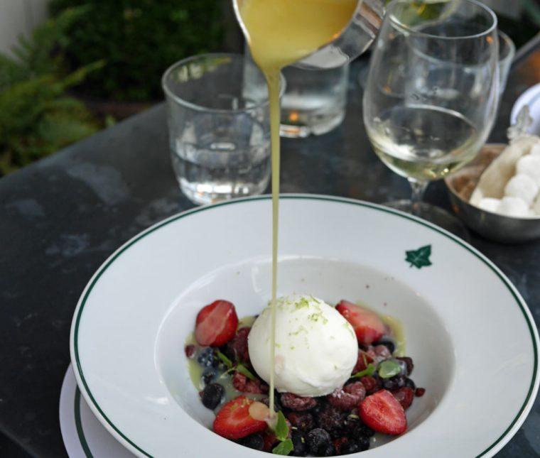 The Ivy Dessert