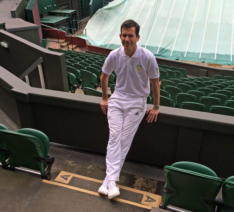 Tim Henman at Wimbledon 2