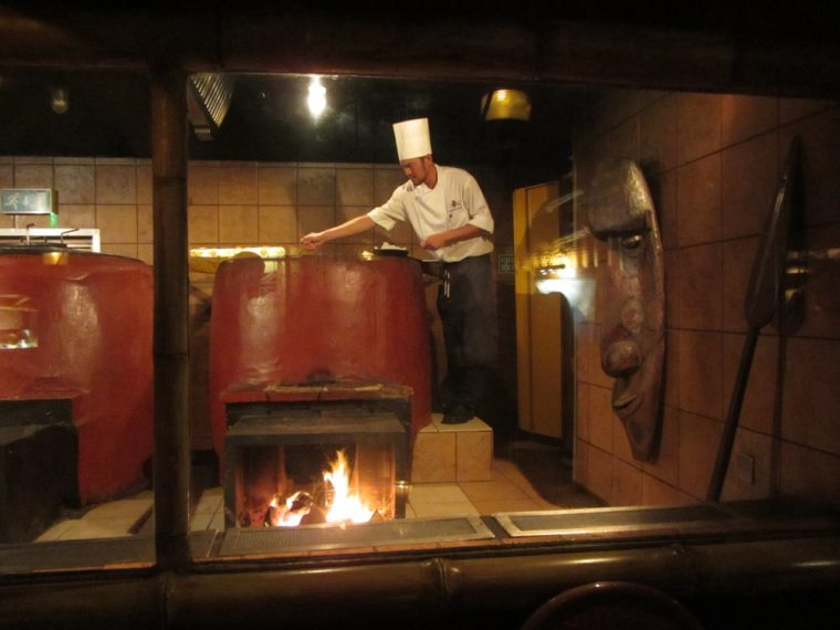 Trader Vics - wood fired Chinese oven