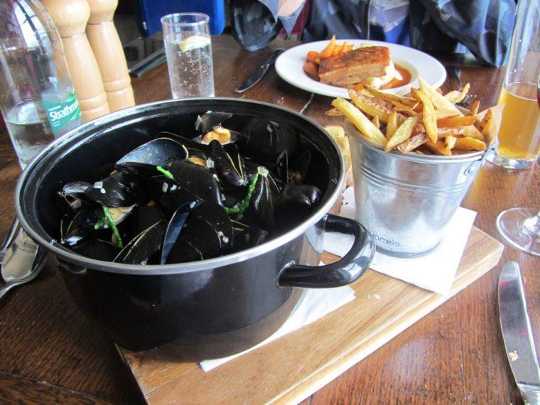 Trafalgar - mussels