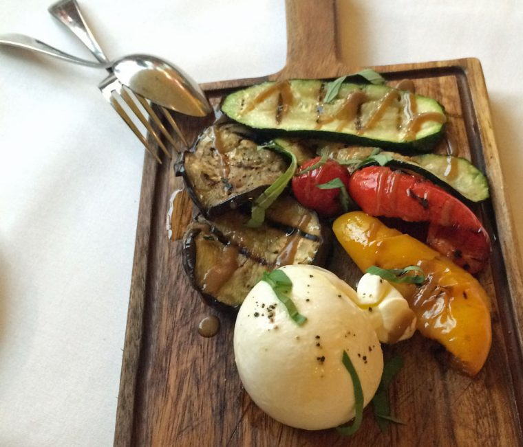 Vicino Grilled Vegetables and Burrata
