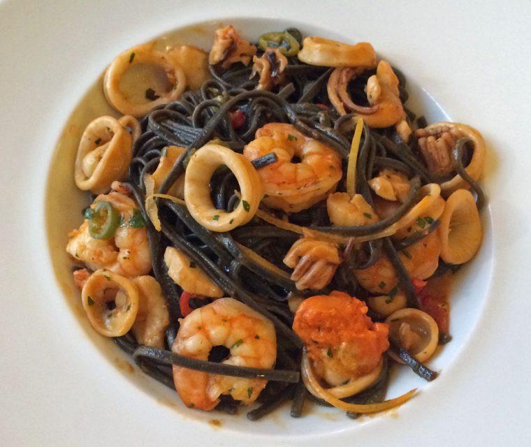 Vicino Seafood Pasta