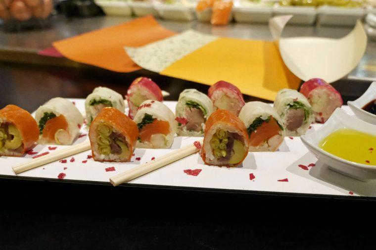 Vitoria-Gasteiz Pinxtos sushi