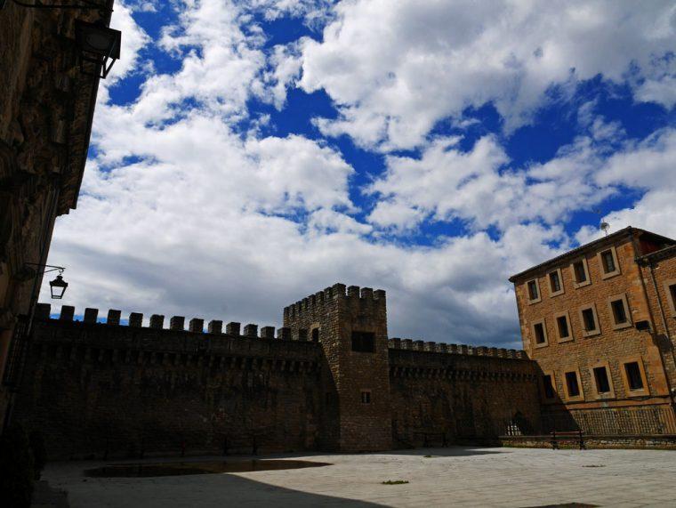 Vitoria-Gasteiz crenellated walls