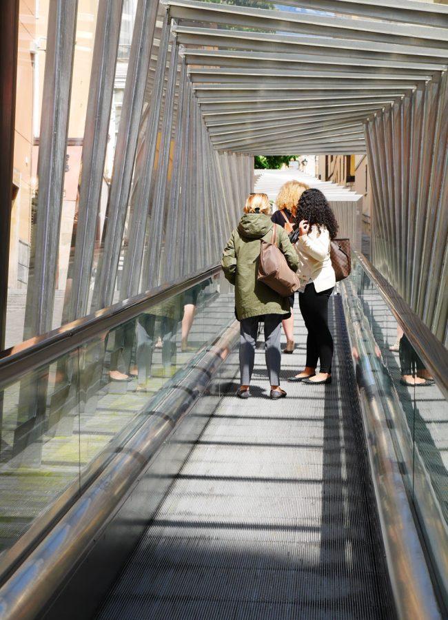Vitoria-Gasteiz - outdoor escalators