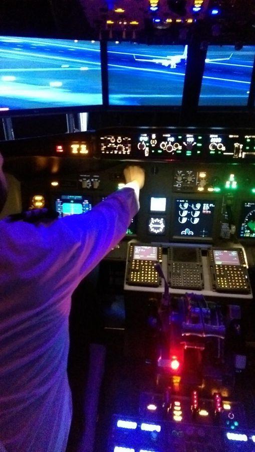 iPilot Simulator Flying Takeoff