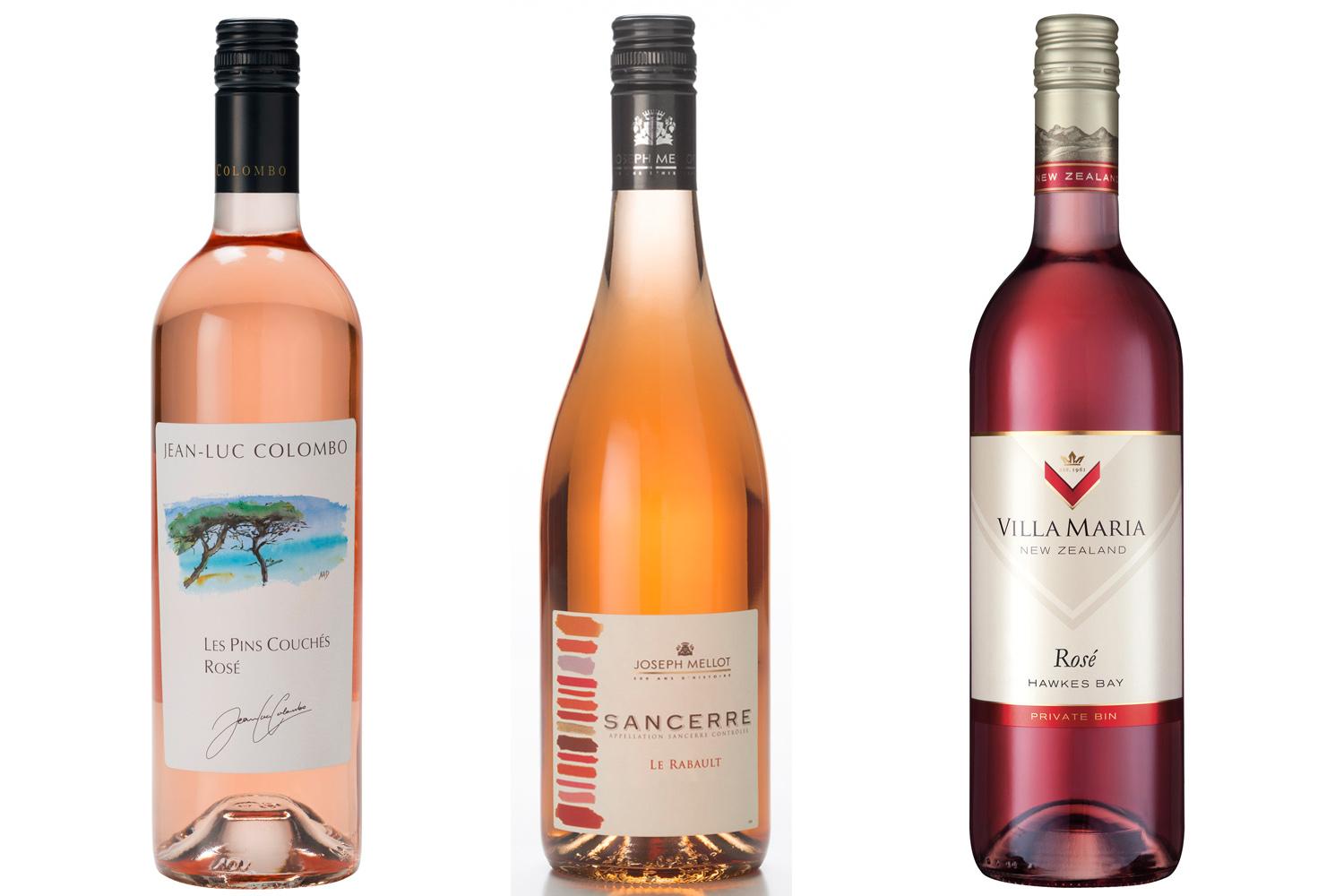 3 summer Rose Wines