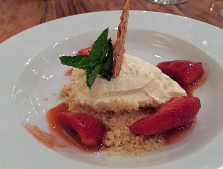 Anise - Summer Menu Dessert