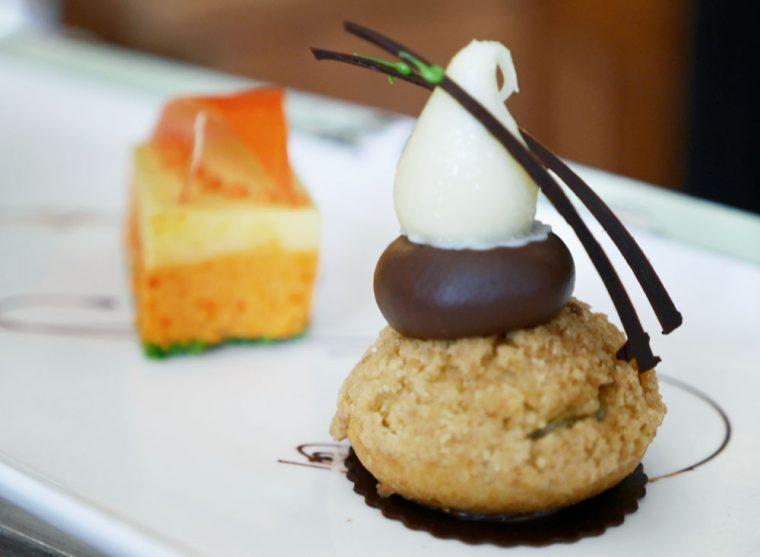 Art tea pastry