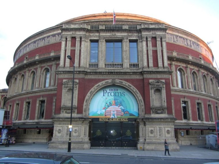 Coda - Royal Albert Hall exterior