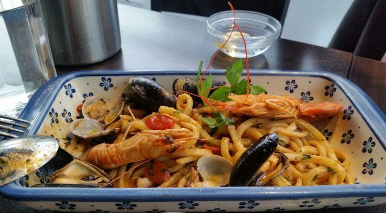 Donna Margherita - seafood pasta