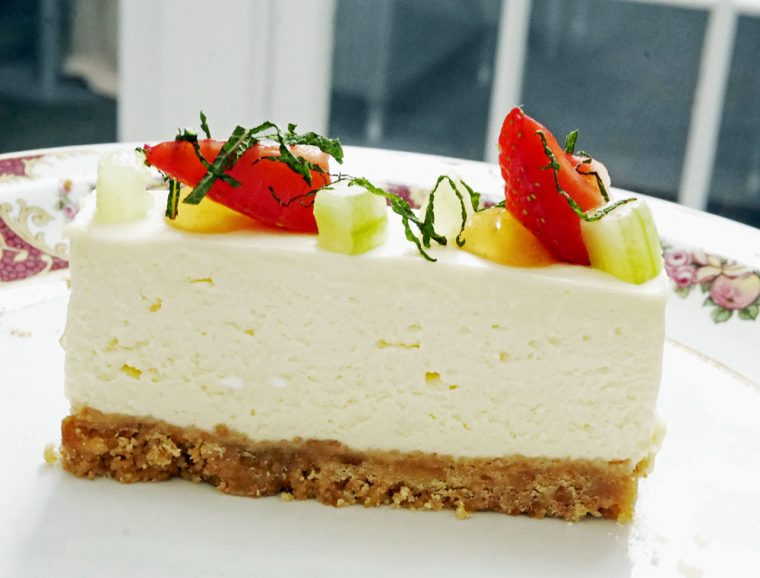 Dukes st james's afternoon tea cheesecake
