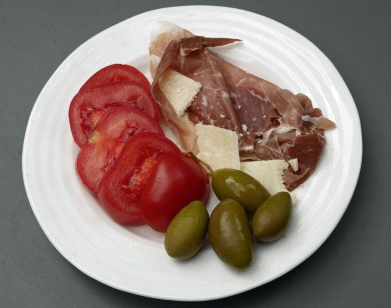 Grana Padano and Proscuitto