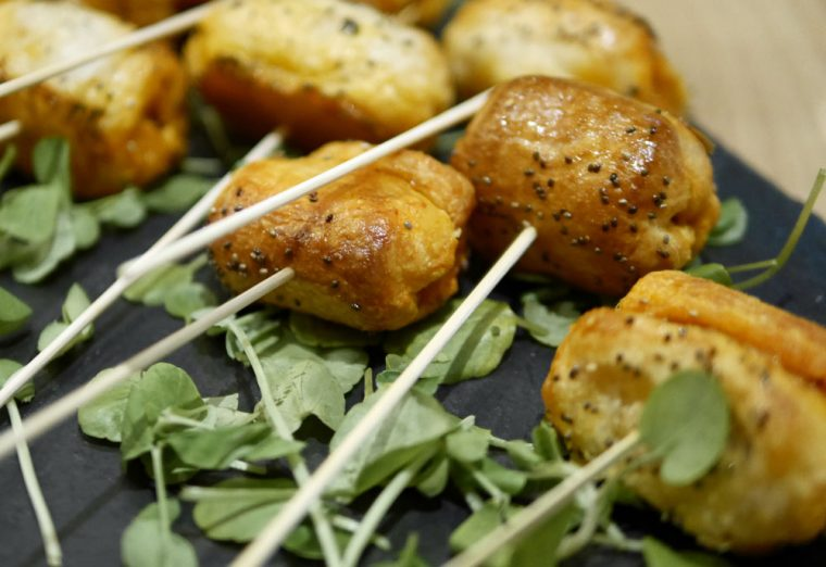 Humble Grape Spanish Chistorra Sausage Skewers