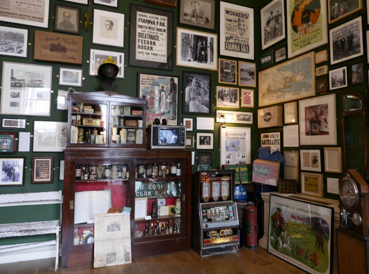 Little museum of Dublin Corner