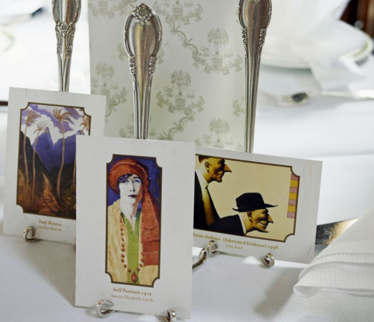 Merrion Hotel Tea Cards