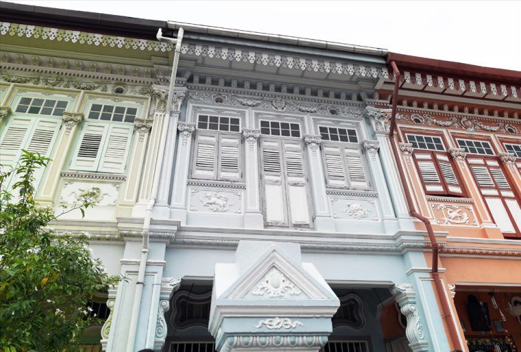 Peranakan houses in Joo Chiat