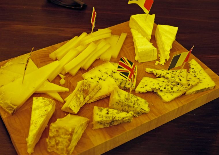 Pure Chablis - cheese