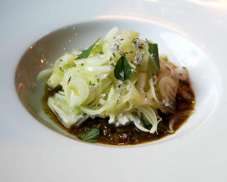 S Pellegrino Ricotta and Onions