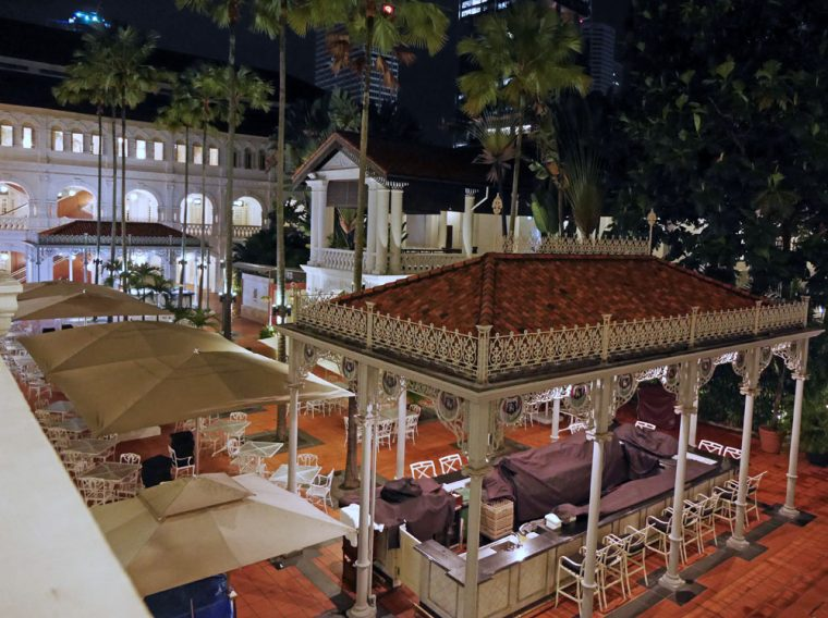 The Courtyard, Raffles