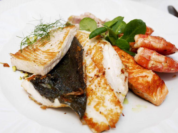 Arco Ristorante il Ritratto - grilled seafood