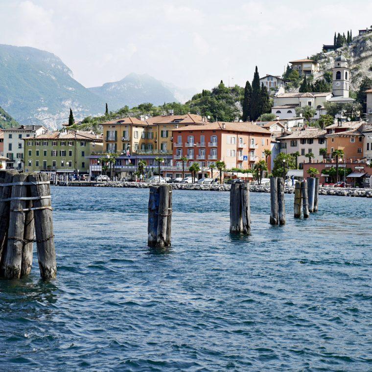 Arriving in Torbole - Lake Garda