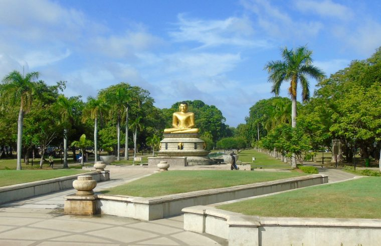 Colombo Buddha in the Park