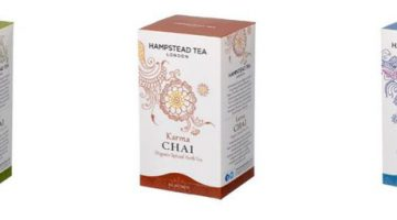 #Win Hampstead Tea Chai and More #Giveaway